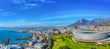 canvas print picture - Cape Town aerial view