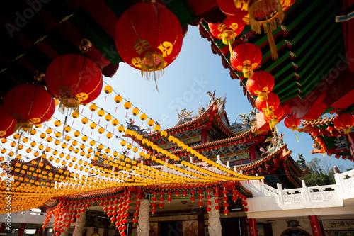 Fotografía  Thean Hou temple in Kuala Lumpur
