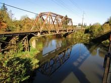 Railroad Crossing The Tualatin