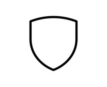 Shield Line Icon