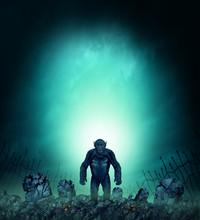 Graveyard Horror Monster