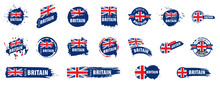 United Kingdom Flag, Vector Il...