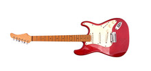 Guitar Electric Red  Isolated...