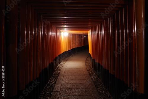 異世界 伏見稲荷大社 夜 ミステリアスナイト Another World Fushimi Inari Taisha Night Mysterious Night