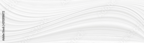 Canvastavla  White background 3 d with elements of waves in a fantastic abstract design, the texture of the lines in a modern style for wallpaper
