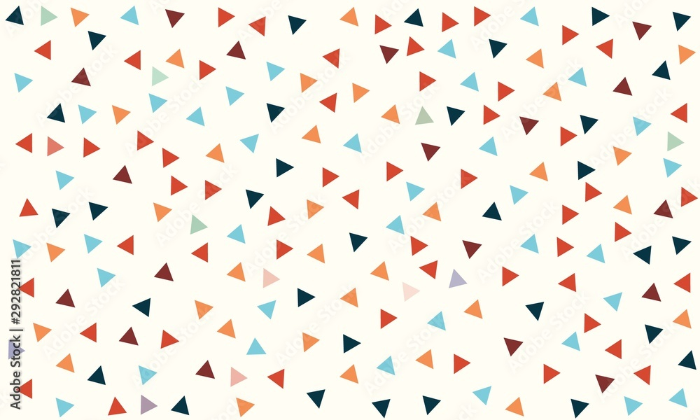 Abstract triangle Color background vector design.