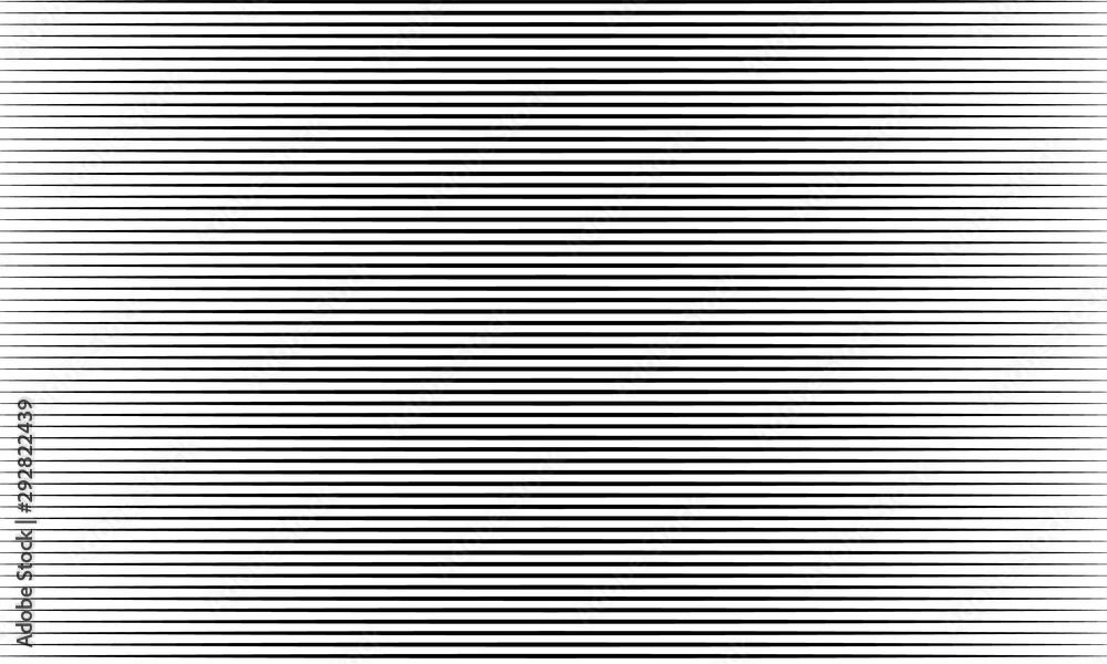 Fototapeta Repeat horizontal line template and pattern background Creative vector design