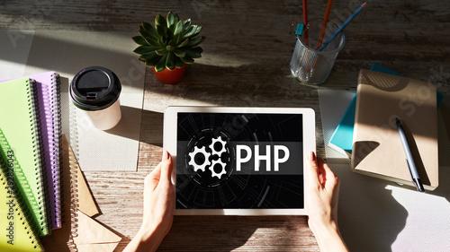 Fotografie, Obraz  PHP programming language
