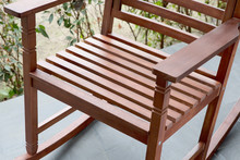 The Detail Of Rocking Chair In...