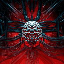 Brain Of The Gamer / 3D Illust...