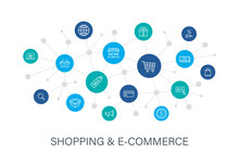Concept E-commerce And Shoppin...