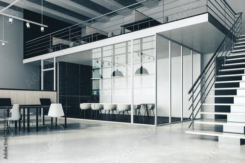 Fototapety, obrazy: Large office interior