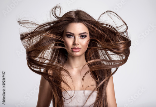 portrait-of-a-beautiful-woman-with-a-long-hair