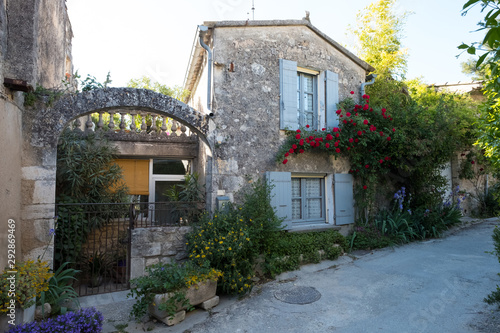 Fototapety, obrazy: Häuser im mittelaterlichen Oppède-le-Vieux in der Provence, Frankreich