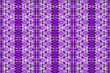 canvas print picture - Textured African fabric, purple color