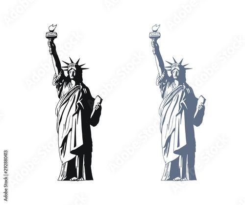 Obraz na płótnie statue of liberty