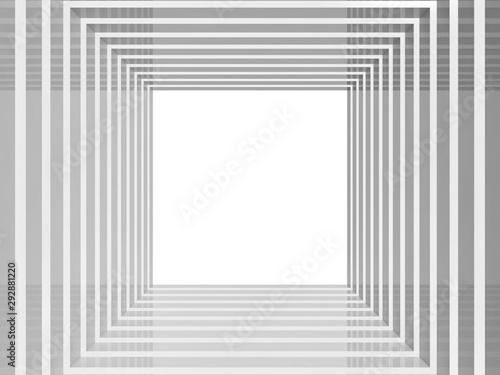 Fototapeta tunel  perspektywa-pusty-blyszczacy-kwadratowy-tunel