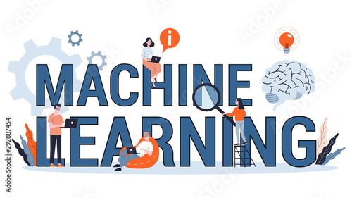 Photographie Machine learning concept