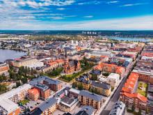 Lulea, Sweden - July 05, 2019:...