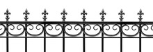 Black Wrought Iron Front Garde...