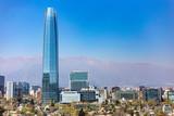 a skycraper  building in santiago Chile