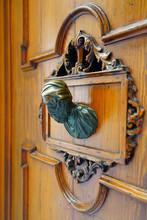 Antique Metal Door Knocker In ...