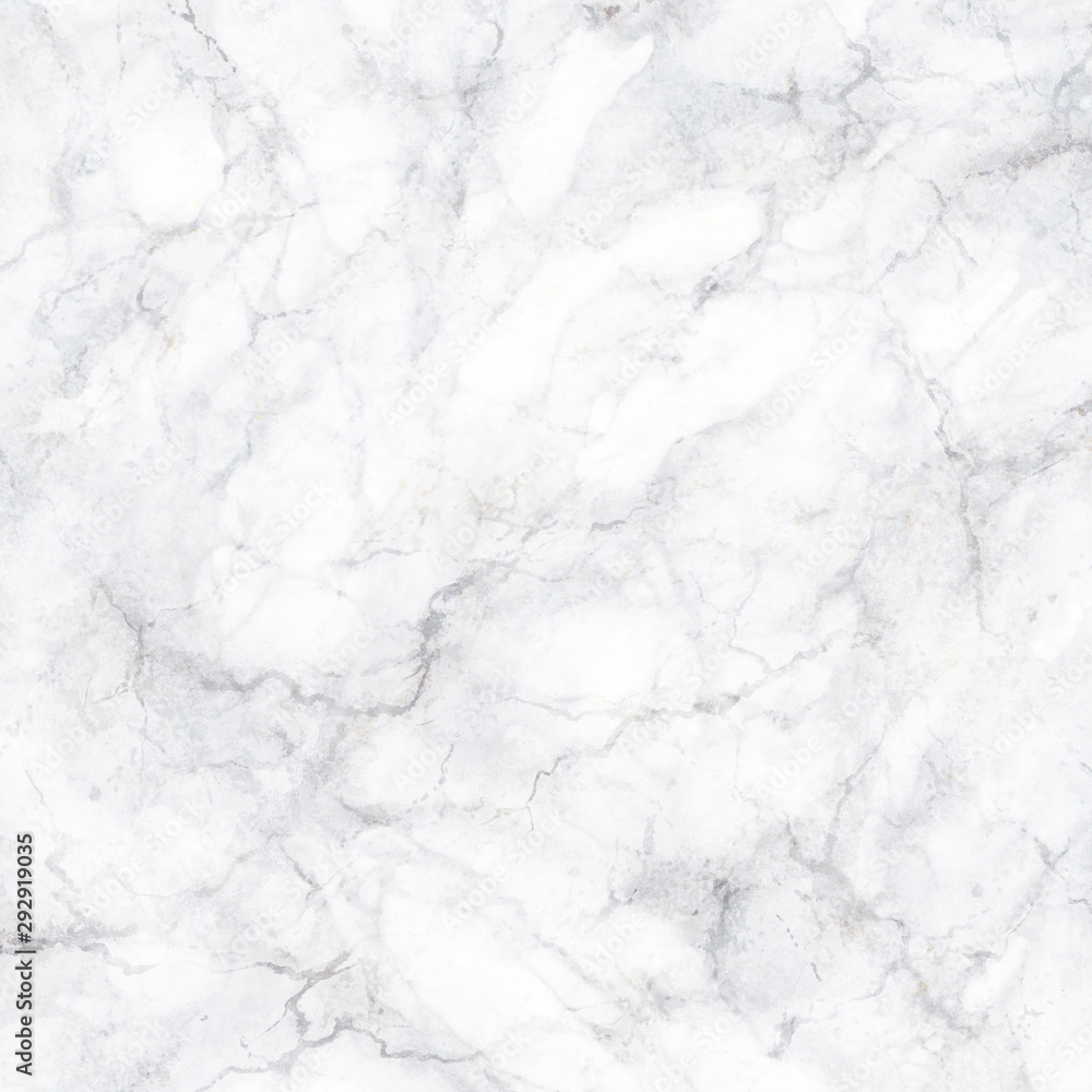 Fototapeta abstract marbling texture, white marble with grey veins, artificial stone illustration, hand painted background, wallpaper