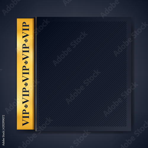 Fototapeta Vip Club Party Premium Invitation Card Poster Flyer