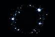 shiny blue stars background