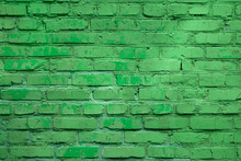 Light Green Block Brick Wall F...