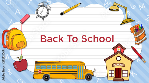 Back To School Bus - 292931049