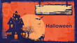 canvas print picture - Halloween