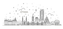 Vector Illustration Of Ottawa ...