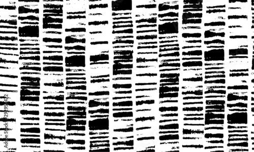 Obraz Broken plaster wall effect. Grunge worn damask pattern design. Distressed fabric texture. Overlay texture design. Vector illustration. Eps10. - fototapety do salonu