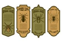 Spider Juice. Spider Legs. Hal...