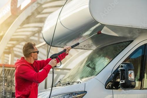 Fotografia RV Camper Car Wash