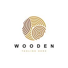 Wood Work Logo Design Vector Template.creative Wood Symbol
