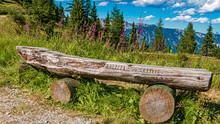 Beautiful Alpine View With A W...