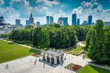 Fototapeta Londyn - Warszawska panorama