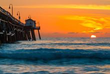 Orange Sunset At San Clementa ...