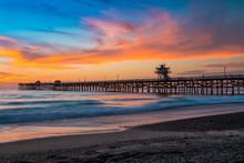 San Clemente Pier Sunset