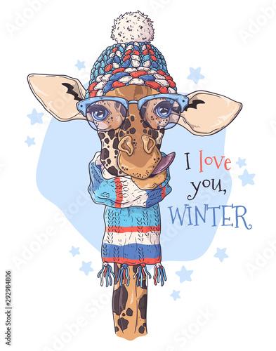 zyrafa-kochajaca-zime