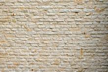 Magnificent Old Limestone Brick Wall.