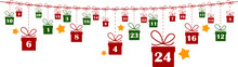 Advent Calender Gifts Vector B...
