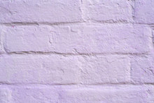 Old Lilac Brick Wall Texture F...