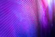 canvas print picture - CloseUp LED blurred screen. LED soft focus background. abstract background ideal for design.