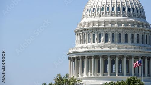 Obraz na plátne Capitol Building in Washington DC, USA