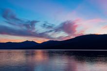 Beautiful Sunset Of The Lake M...