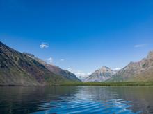 Beautiful Landscape Around Lake Mcdonald