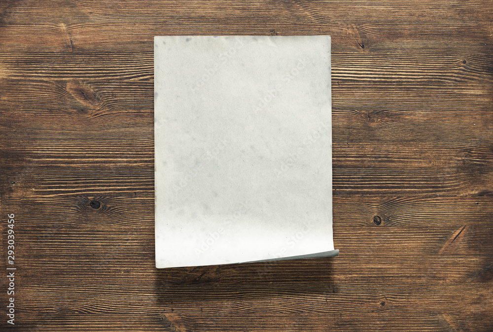 Fototapety, obrazy: paper on wood